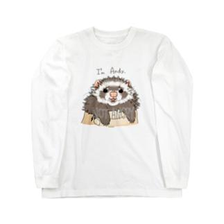 チャリティグッズ*アンディーちゃん Long sleeve T-shirts
