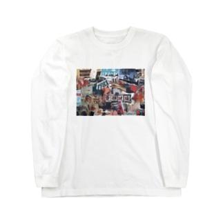 漂流 Long sleeve T-shirts