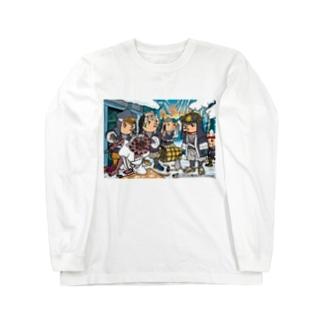 あまびえアートチャレンジ@もりいくすお Long sleeve T-shirts