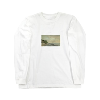 teki shopの日の出(モネ) Long sleeve T-shirts