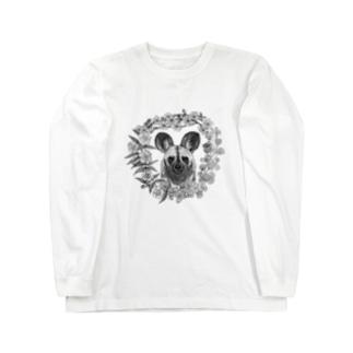 ハマのリカオン Long sleeve T-shirts