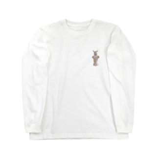 縄文埴輪土偶 Long sleeve T-shirts