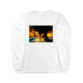 サイレントタウン Long sleeve T-shirts