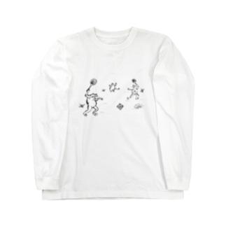 庭球蛙 Long sleeve T-shirts