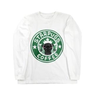 antienneのSTARPUGS1 Long sleeve T-shirts