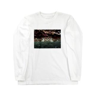 蟹 Long sleeve T-shirts