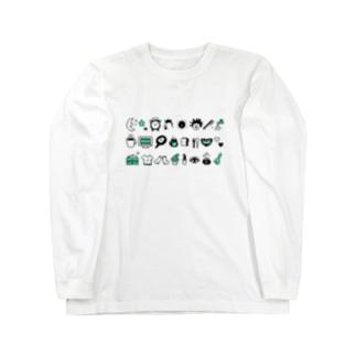 モーニングルーティン Long sleeve T-shirts