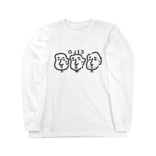 オジ3(三密)Tシャツ Long sleeve T-shirts