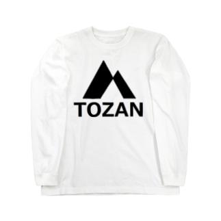 アメリカンベースの登山 Long sleeve T-shirts