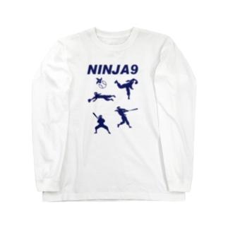 忍者野球 Long sleeve T-shirts