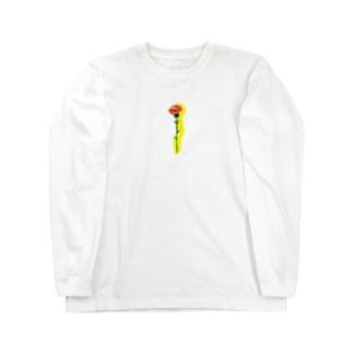 カーネーション Long sleeve T-shirts