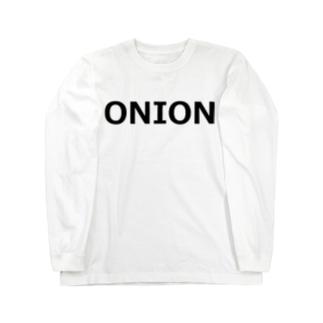 アメリカンベースのオニオン Long sleeve T-shirts