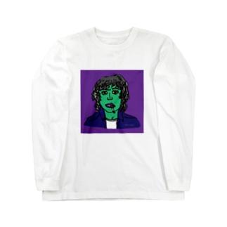 ろくでなしロックスター カラー Long sleeve T-shirts
