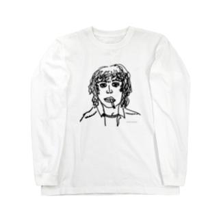 ろくでなしロックスター Long sleeve T-shirts