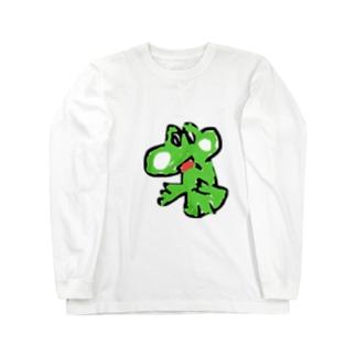 ヨッシー Long sleeve T-shirts