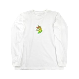 一角獣 Long sleeve T-shirts