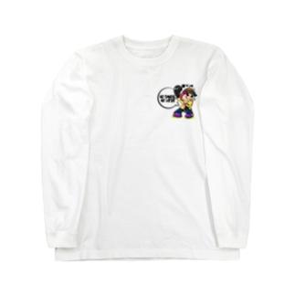 PANDAてぃーちゃーSpecia(背面黒印刷) Long sleeve T-shirts