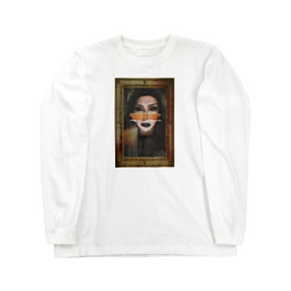 mouth is the source of evil Long sleeve T-shirts