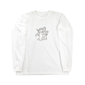 SAN4.のxox ANGEL Long sleeve T-shirts