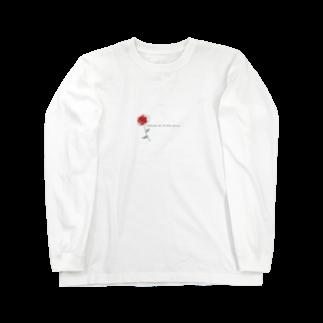 Rの1輪の薔薇 Long sleeve T-shirts