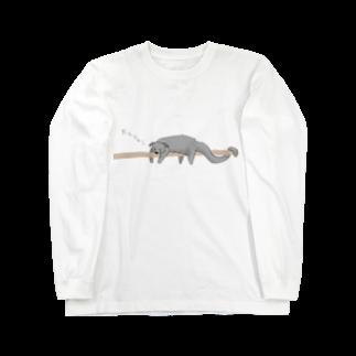プリズモリイの箱のだらりんこ ビントロング Long sleeve T-shirts