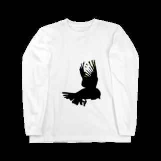 あおき。のsuzume Long sleeve T-shirts