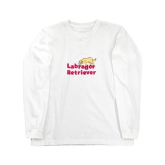 ラブラドールイエロー Long Sleeve T-Shirt