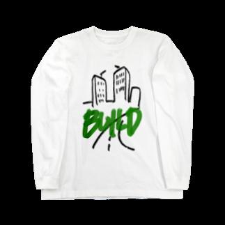 SUNNYcountryのBUILD Long sleeve T-shirts