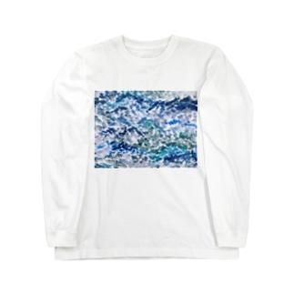 大海原にはもう戻らない Long sleeve T-shirts