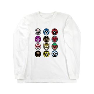 MASKMAN TWELVE Long sleeve T-shirts