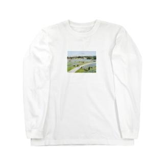 ネモフィラの花 Long sleeve T-shirts