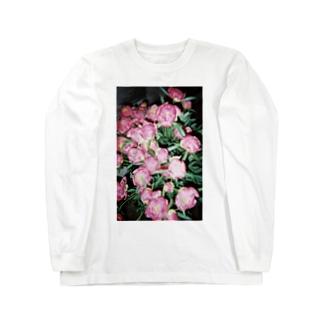 harucamera シャクヤク Long sleeve T-shirts