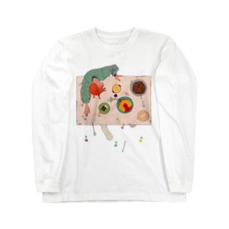 いとおしい食卓 Long sleeve T-shirts