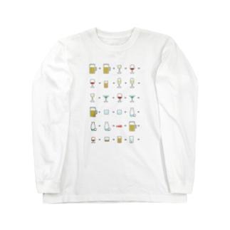アルコール Long sleeve T-shirts