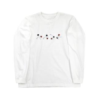 マット運動 前転 Long sleeve T-shirts