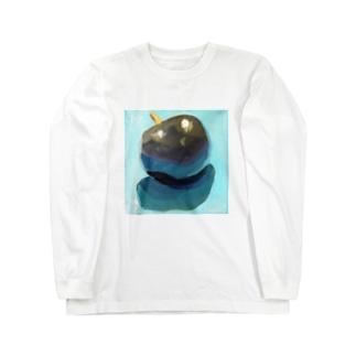 ブラックプラム Long sleeve T-shirts