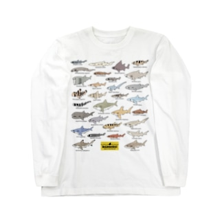 Sharks30(color)1.1 Long sleeve T-shirts