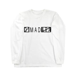 〼MAD〼 黒/DB_15 Long sleeve T-shirts