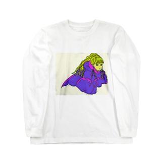 女の子⑤ Long sleeve T-shirts