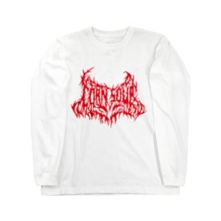 CORN SOUP (red) Long sleeve T-shirts