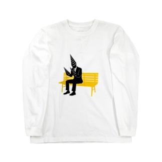 ドリルビジネスマン2 Long sleeve T-shirts