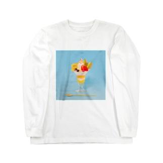 フルーツパフェなアイテム Long sleeve T-shirts