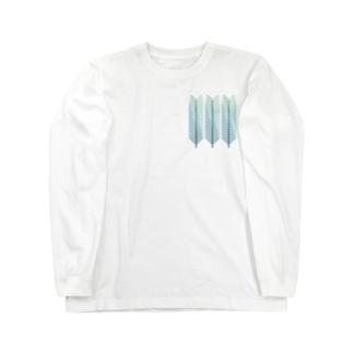 青松の葉 Long sleeve T-shirts