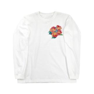 赤椿 Long sleeve T-shirts