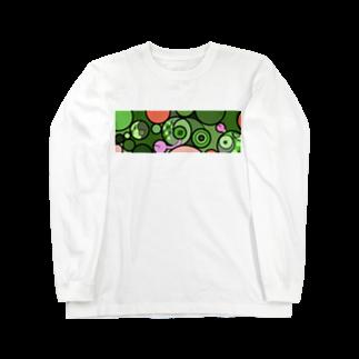 nomataの◯とカメレオン Long sleeve T-shirts