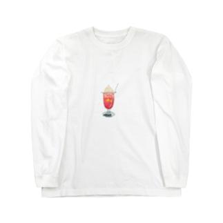 内緒のクリームソーダ Long sleeve T-shirts