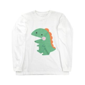きょうりゅう Long sleeve T-shirts