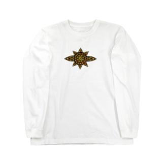 sun -summer- Long sleeve T-shirts