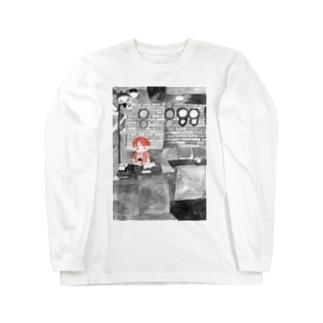 桜のAM3:00 Long sleeve T-shirts