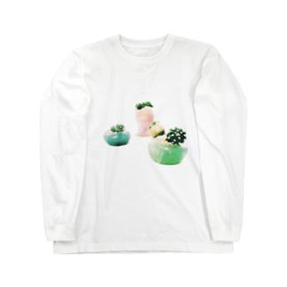 【アロマサボテンズ】 Long sleeve T-shirts